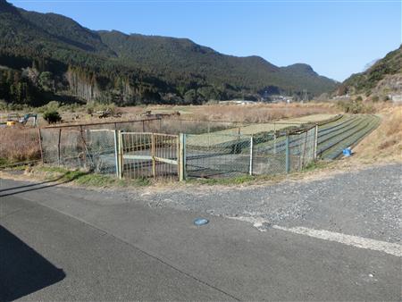 渡野配水池跡