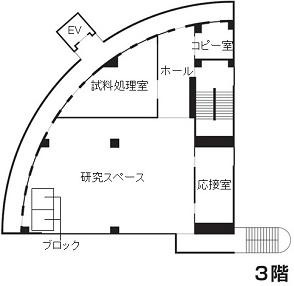 施設概要_フロアマップ3階