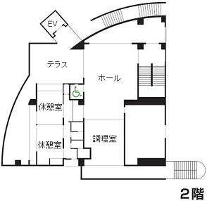施設概要_フロアマップ2階