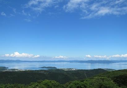中尾山 山頂からのパノラマ