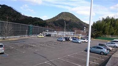 駅東駐車場全景